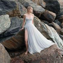 Online Get Cheap Grey Wedding Gowns