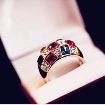 Online Get Cheap Rectangle Wedding Ring