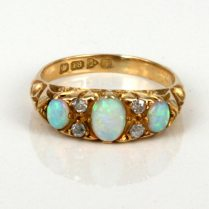 Opal Engagement Rings Etsy Offers Will Marvel Your With Diversity