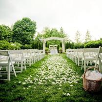 Outdoor Outdoor Wedding Centerpieces