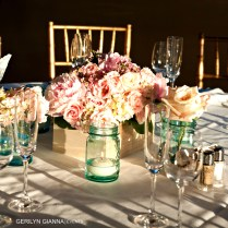 Palm Beach Wedding Floral Decor