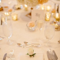Peach And Ivory Wedding Decorations