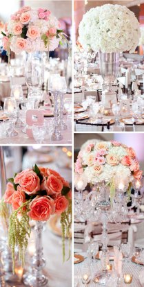 Peach Pink Wedding