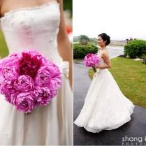 Peonies Wedding Flowers With Roses, Hydrangeas For Jordans Wedding