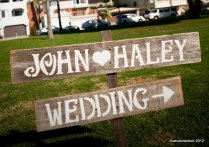 Personalized Wedding, Wedding Country And Rustic Wedding Signs On