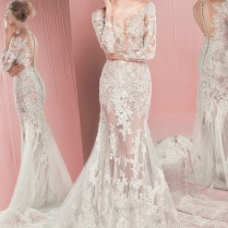 Pink Sparkly Wedding Dresses