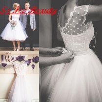 Polka Dot Wedding Gowns Promotion