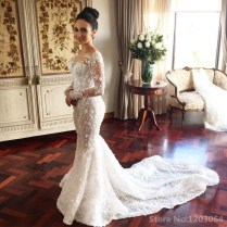 Popular Jeweled Wedding Dress
