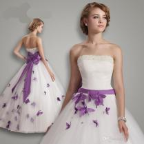 Popular Wedding Dress Butterflies
