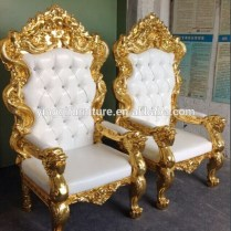 Popular Wedding Throne King And Queen Chair For Sale