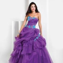 Purple Wedding Dresses, Beautiful Wedding Dress And Purple Wedding