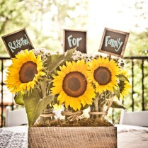 Real Atlanta Wedding Claire And Darren's Vintage Sunflower Themed