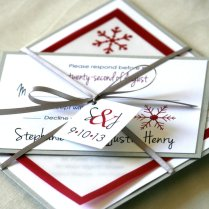 Red White And Silver Wedding Pictures