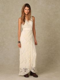 Remarkable Sleeveless Free People Wedding Dress For Free Brides To
