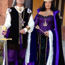Renaissance Royalty Wedding Theme Attire, Ren Fest Wedding Ideas