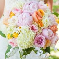 Rose Peony And Hydrangea Bouquet