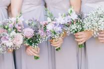Rustic Marquee Wedding In Yorkshire With A Lavender And Dove Grey