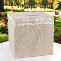 Rustic Romance Wedding Card Box