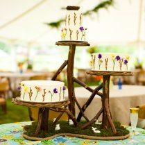 Rustic Wedding Ideas Woodland Weddings By Etsy Tiered Cake Stand