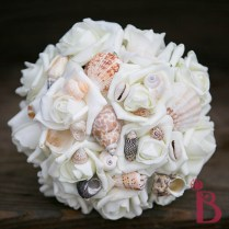 Seashell Simple Bridesmaid Bouquet Small