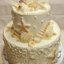 Seashell Wedding Cakes, Seashell Wedding And Seashells On Emasscraft Org