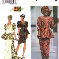 Sewing Patterns, Peplum Blouse And African Wedding Dress On Emasscraft Org