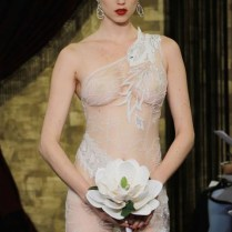 Sheer Delight Barely There Wedding Dresses
