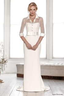Shirt Dress Wedding Gown