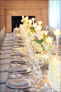 Silver And Gold Wedding Palettes