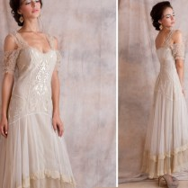 Simple Wedding Dress Second Marriage