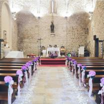 Small Church Wedding Decoration