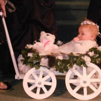 Small Flower Girl Wedding Wagon Gloss White Or By Miniwagons