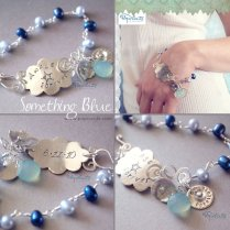 Something Blue Wedding Bracelet By Popnicute On Deviantart