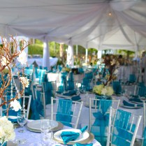 Southwestern Silver And Turquoise Wedding Soiree