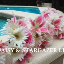 Stargazer Lily & Daisy Bridal Bouquet
