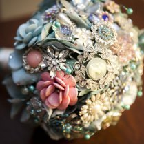 Sweet Southern Maritime Wedding Complete With Brooch Bouquet