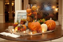 Table Fall Wedding Table Decor