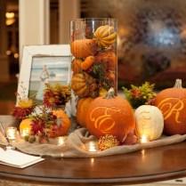 Table Fall Wedding Table Decor