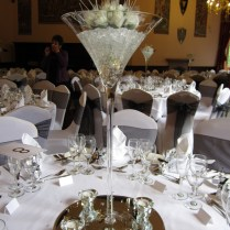Table Centrepieces At Let's Celebrate