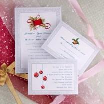 Tbdress Blog Christmas Wedding Invitations To Make A Good Impression