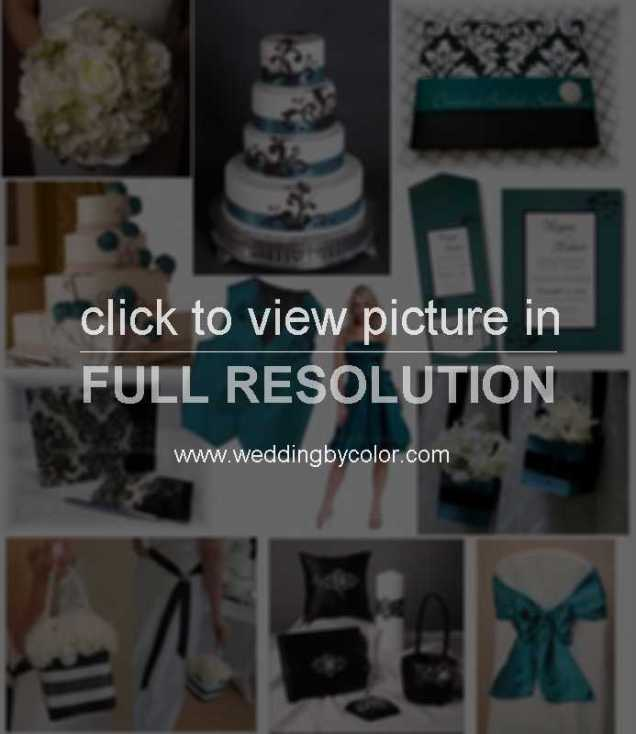 Teal Wedding Decorations