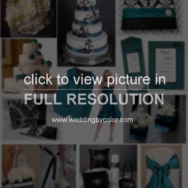 Teal Wedding Decorations
