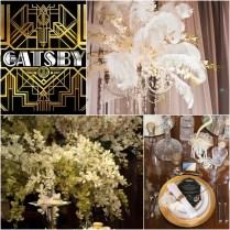 The Great Gatsby – Wedding Decor Theme