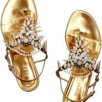 The Perfect Beach Wedding Sandals
