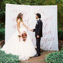 Top 20 Unique Wedding Backdrop Ideas