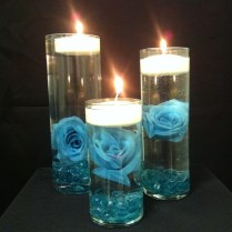 Turquoise Weddings, Floating Candles And Centerpieces On Emasscraft Org