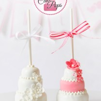 Tutorial} How To Make Tiered Wedding Cake – Cake Pops