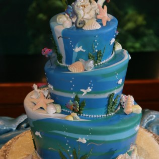 Under The Sea Themed Wedding Cakes – Expensive Wedding Celebration