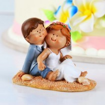 Very Cute Beach Wedding Cake Topper