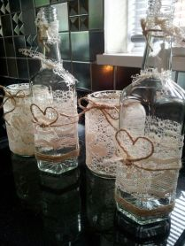 Vintage Lace, Wedding Tables And Candle Holders On Emasscraft Org